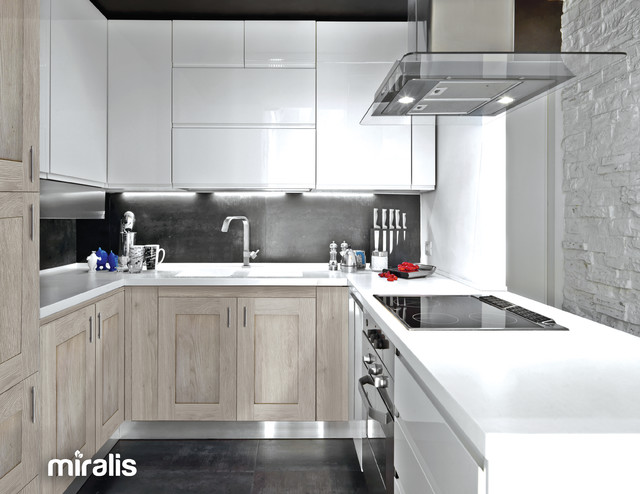 Rough Chic Collection - Contemporary - Kitchen - Montreal - by Miralis