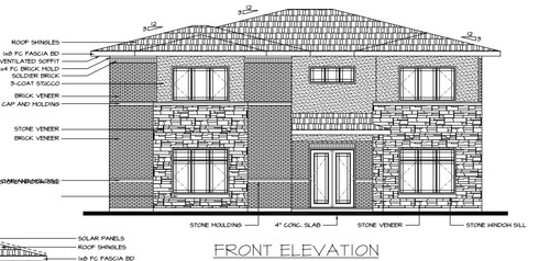 Elevation help stone brick and stucco need to finalize for Brick and stone elevations