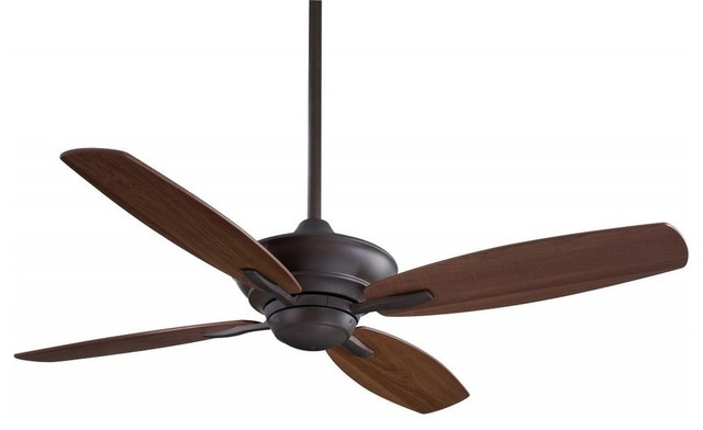 "Minka Aire New Era 52"" Ceiling Fan With Remote Control, Oil Rubbed Bronze"