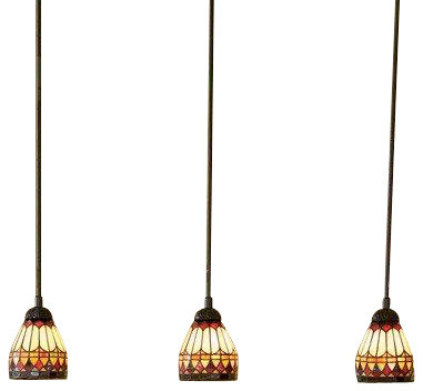 Quoizel tf1541vb west end traditional tiffany mini pendant light quoizel tf1541vb west end traditional tiffany mini pendant light aloadofball Images