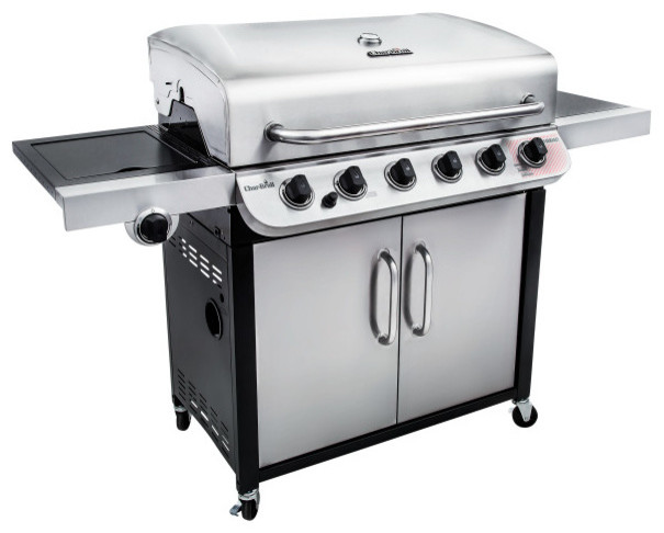 Char-Broil Performance 650 6-Burner Cabinet Gas Grill.