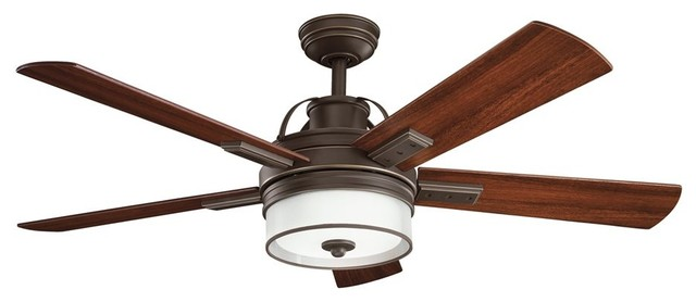 """DECORATIVE FANS Lacey 52"""" Transitional Ceiling Fan X-ZO181003"""