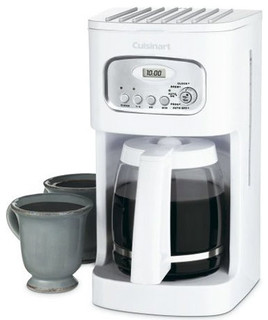 Cuisinart Coffee Maker Fire : Cuisinart DCC-1100 Programmable Coffeemaker, 12 Cup, White - Contemporary - Coffee Makers - by ...
