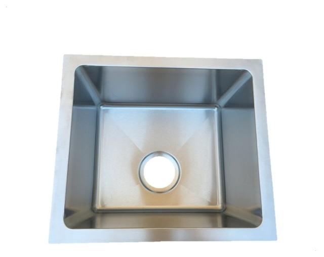 Starstar Undermount Kitchen/bar 304 Stainless Steel Sink 16 Gauge, 17x15x9