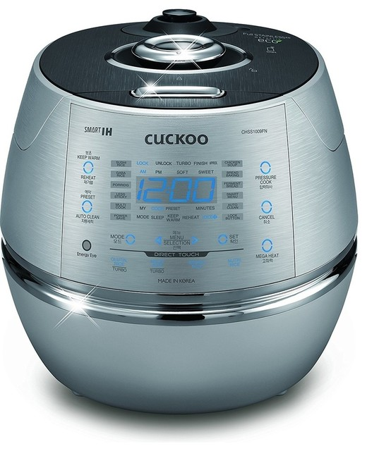 Cuckoo Electric Induction Heating Pressure Rice Cooker Crp-Chss1009fn