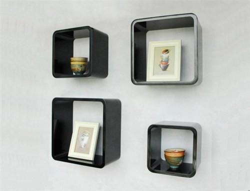 Wall Cube Shelf Round Corner 4pcs Per Set Los Angeles By Justin Hou
