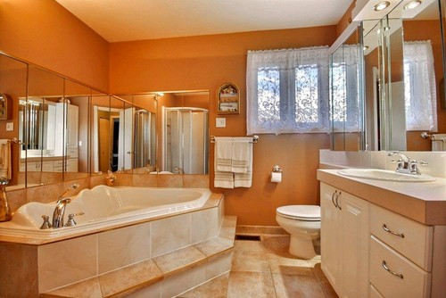 What To Pair With Peach Tiles