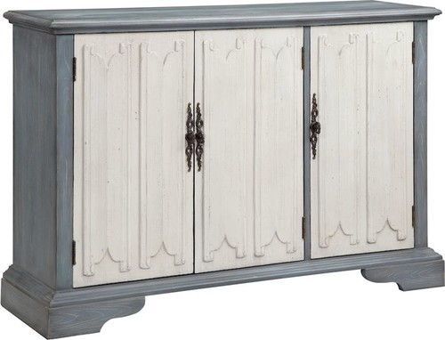 Coran Accent Cabinet, Cornflower Blue