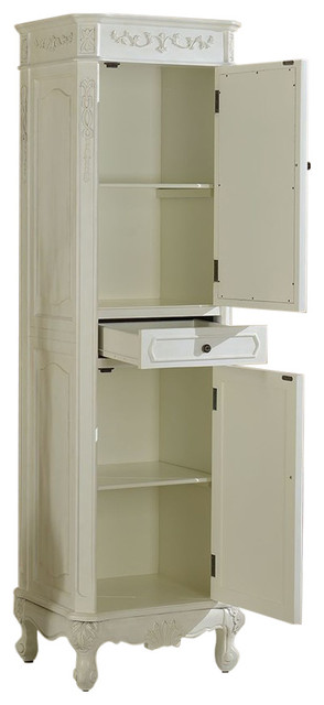 Chelsea Home Cambridge Linen Cabinet With Mirror Bathroom Cabinets And Shel