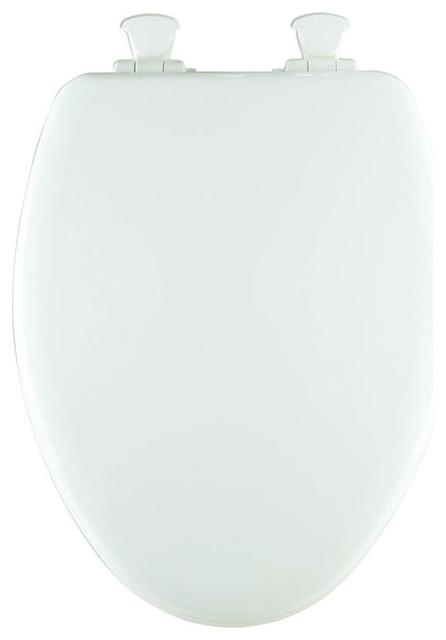 Super Bemis 1583Slow 000 Nextstep Wood Elongated Slow Close Toilet Bralicious Painted Fabric Chair Ideas Braliciousco