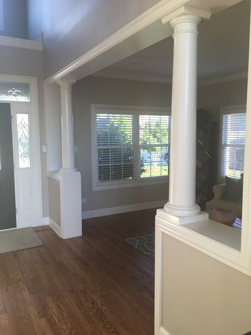 Interior Columns need to replace outdated interior columns