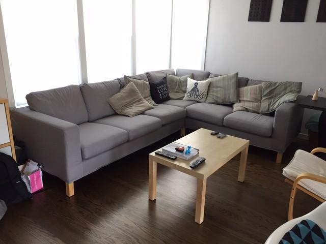 Karlanda Corner Sofa (3+2) In Gaia Fog