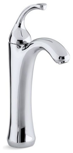 Miraculous Kohler Forte Tall Single Handle Bathroom Sink Faucet Polished Chrome Complete Home Design Collection Papxelindsey Bellcom