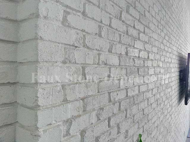 Faux Brick Panels Contemporary