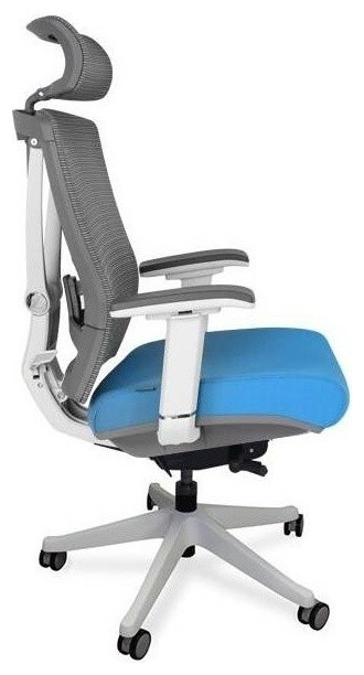 ActiveChair Ergonomic Office and Gaming Chair, 7-Way Adjustable, Blue