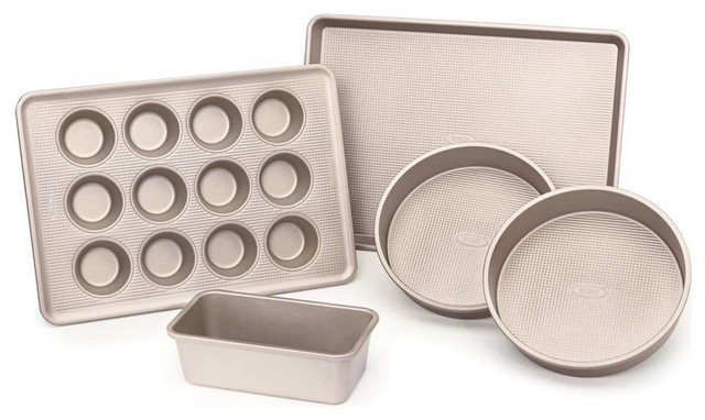 Good Grips Non-Stick Pro Baking Pans, 5-Piece Set.