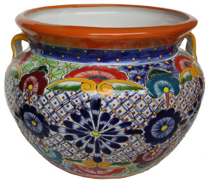 Talavera Ceramic Pot.