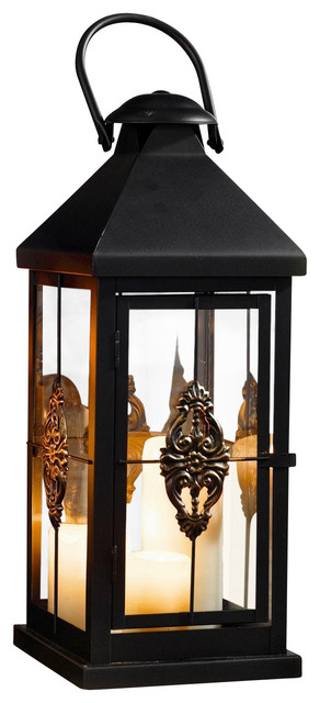 European-Style Hanging Candle Lantern - Traditional - Outdoor ...
