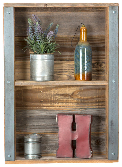 Woody Shelf Rustic Display And Wall Shelves By Del