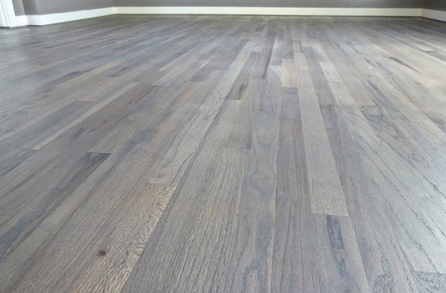 Eleonore S Grey Wood Floor Eclectic Portland By