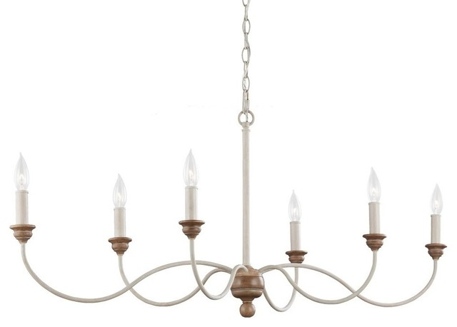 Feiss feiss hartsville 6 light chandelier chalk washed feiss hartsville 6 light chandelier chalk washedbeachwood traditional chandeliers mozeypictures Image collections