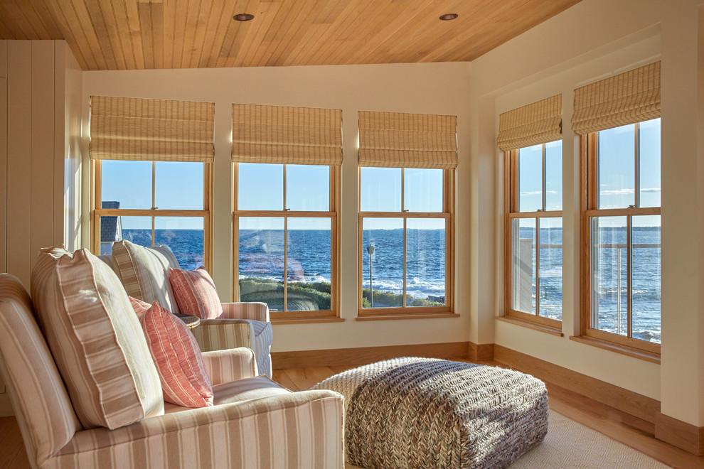 Home design - coastal home design idea in Portland Maine
