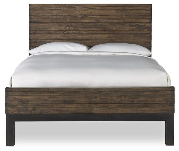 Shop Houzz Apt2b Santa Monica Platform Bed Distressed