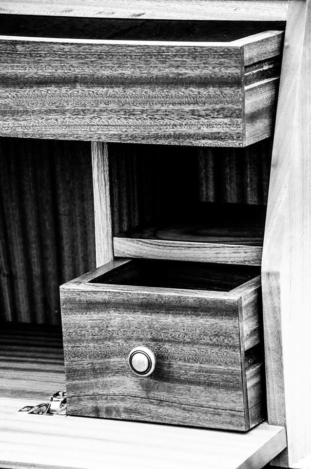 Mahogany Horse Tack Box