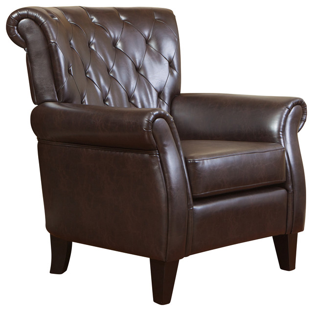 Solvang Leather Club Chair.