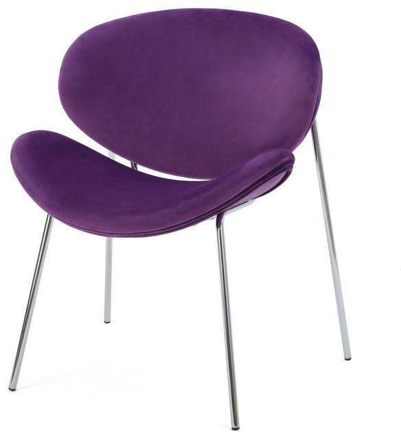 Enjoyable Gdf Studio Jayne 70S Retro New Velvet Accent Chair Eggplant Forskolin Free Trial Chair Design Images Forskolin Free Trialorg
