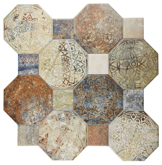 Imagina Decor Ceramic Floor And Wall Tile Silix Sample