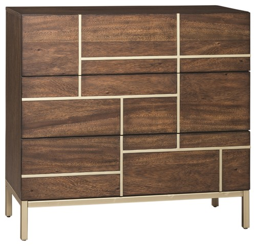 Apt 309 Warm Brown Accent Cabinet