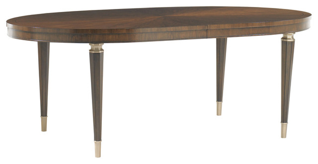 Drake Oval Dining Table Transitional