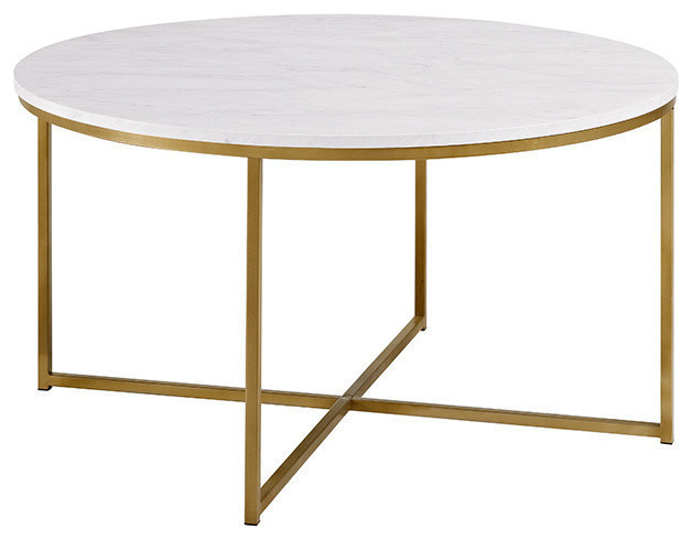 Mahlon Accent Table, Marble. -1