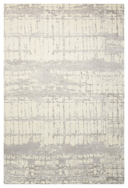 Nourison Twilight Ivory and Abalone Rug, 236x297 Cm