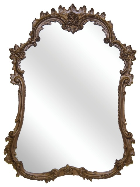 French Mirror, Bronze.
