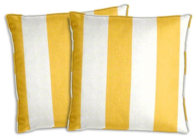 Marvelous Yellow Outdoor Pillows