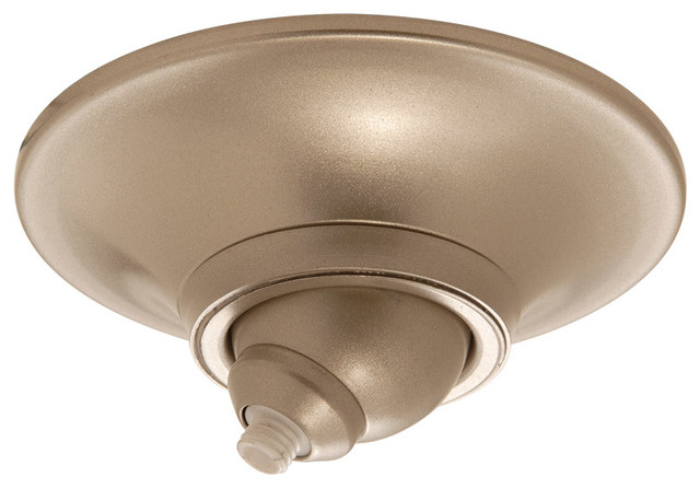 Quick Connect Sloped Ceiling Canopy Brushed Nickel Transitional Lighting Hardware By Shopfreely Houzz