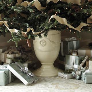 Shop Houzz Ballard Designs Toulon Christmas Tree Urn