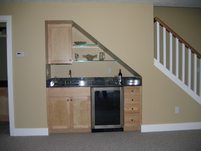 Kitchen Design Under Stairs image design miscellaneous photo's - traditional - basement
