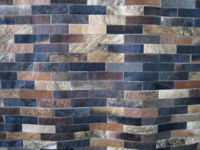 Patchwork Cowhide Leather Rugs Roselawnlutheran