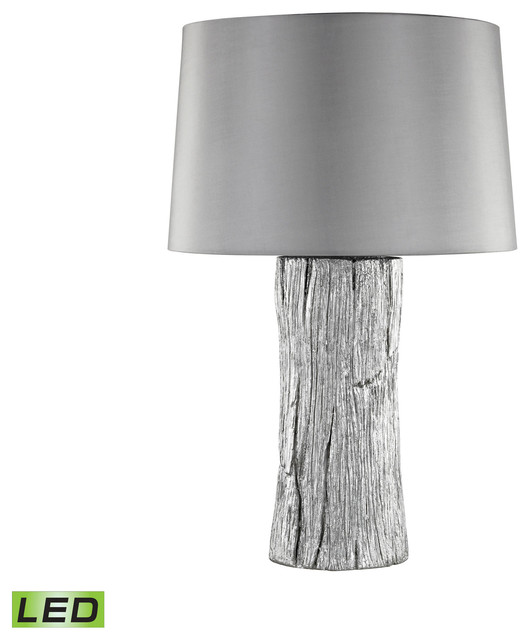 Kanamota Outdoor Table Lamp, Silver, Led
