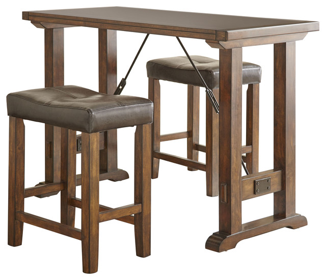 Colin 3-Piece Counter Dining Set.
