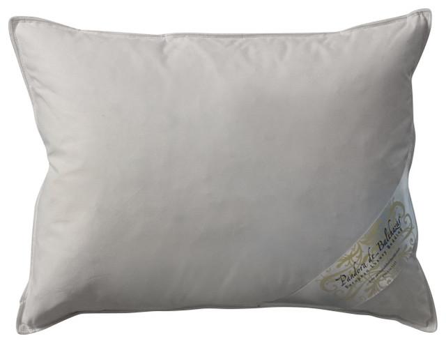 Pandora de balthazar boudoir goose down pillow soft bed for Best soft down pillow