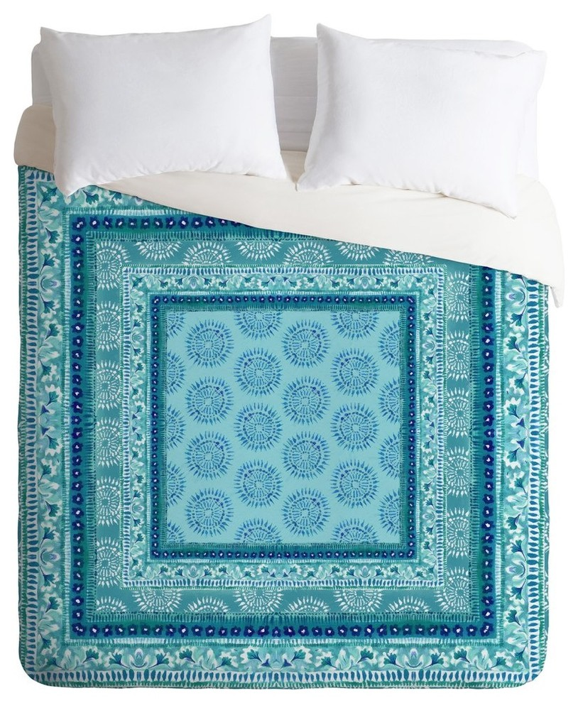 Deny Designs Aimee St Hill Decorative Blue Duvet Cover Twin//Twin XL