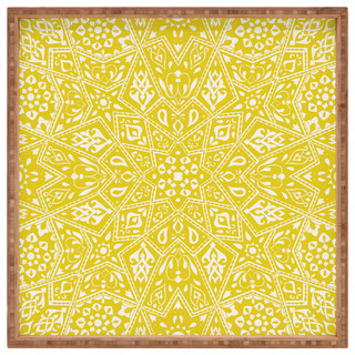 Deny Designs Amirah Yellow Bedding Aimee St Hill Duvet Cover Twin Home