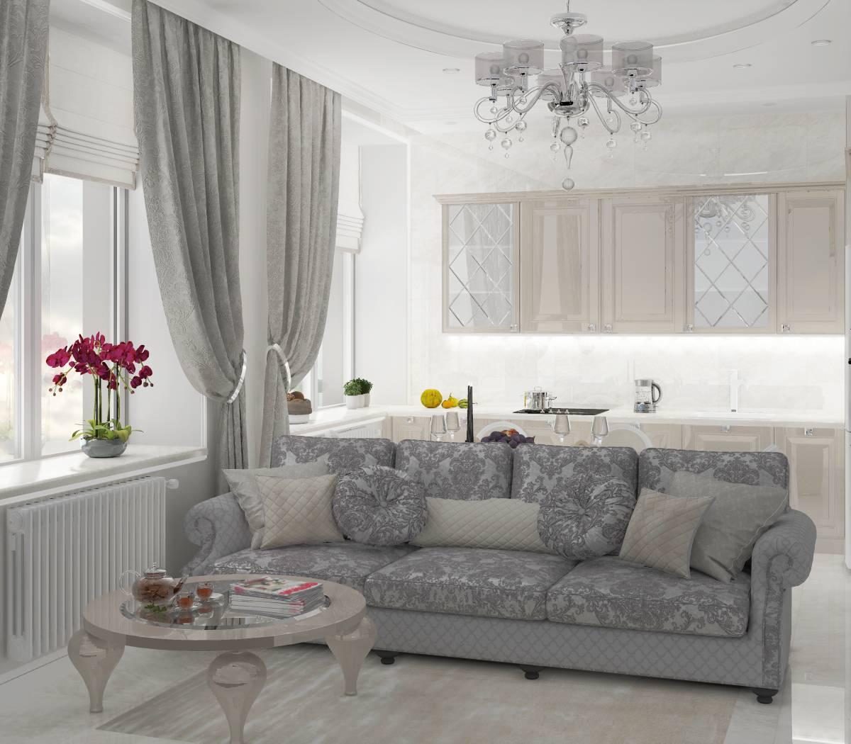 Проект квартиры в Отрадном