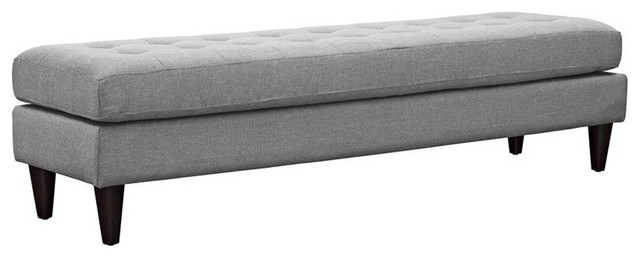Empress Bench, Light Gray.