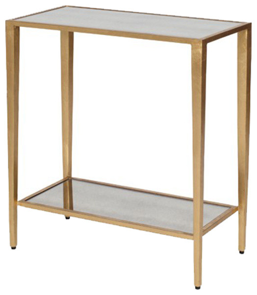 Worlds Away Worlds Away Two Tier Rectangular Table Side Tables And End Tables Houzz