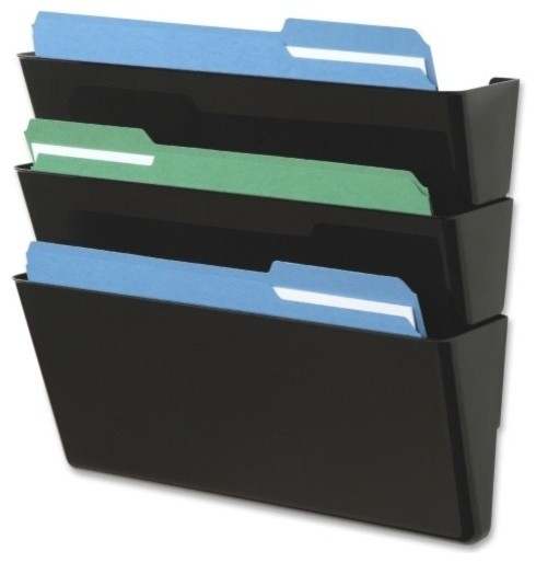 Deflect-o Letter-Size Stackable Wall DocuPocket - Contemporary - Filing Cabinets - by Alliance ...